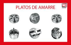 Platos de sujeción para máquina-herramienta